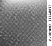 rain transparent template... | Shutterstock .eps vector #556228957