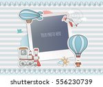 holiday card design. | Shutterstock .eps vector #556230739