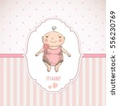 Baby Shower. Greeting Card.