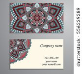 invitation  business card or... | Shutterstock .eps vector #556239289