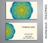 invitation  business card or... | Shutterstock .eps vector #556239601