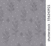 seamless hand drawn pattern... | Shutterstock .eps vector #556243921