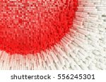 abstract structure of... | Shutterstock . vector #556245301