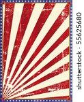 American grunge background. - stock vector