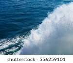 Sea And Kielwater Seen From...