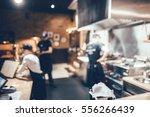 counter in european restaurant...   Shutterstock . vector #556266439