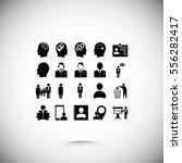 business man icons  vector best ...   Shutterstock .eps vector #556282417