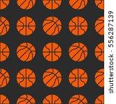 basketball sport seamless... | Shutterstock .eps vector #556287139