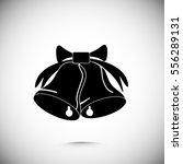 bells icon  vector best flat... | Shutterstock .eps vector #556289131