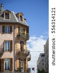 facades from chambery france...   Shutterstock . vector #556314121