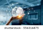 presenting wireless...   Shutterstock . vector #556316875
