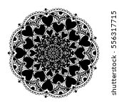mandalas for coloring book.... | Shutterstock .eps vector #556317715