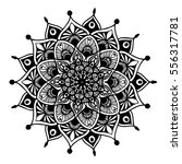 mandalas for coloring book.... | Shutterstock .eps vector #556317781