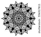 mandalas for coloring book.... | Shutterstock .eps vector #556317811