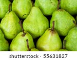 Green Pear Background