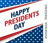 presidents day background. usa... | Shutterstock .eps vector #556322461
