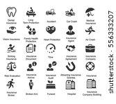 health insurance icons   gray...   Shutterstock .eps vector #556333207