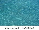 the water  in pool from... | Shutterstock . vector #55633861