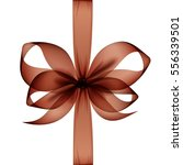 Vector Brown Transparent Bow...