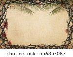 christian holy week or lent... | Shutterstock . vector #556357087
