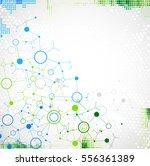 abstract geometric vector... | Shutterstock .eps vector #556361389