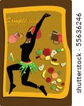 african card | Shutterstock .eps vector #55636246