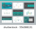 page layout design template for ... | Shutterstock .eps vector #556388131