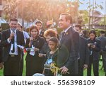 Small photo of Bangkok, Thailand, on 13 January 2017.Gen.. Prayut Chan-o-cha, Prime Minister of Thailand. Distributed gifts to the children on the occasion of Children's Day at Government House.
