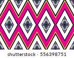 geometric ethnic pattern... | Shutterstock .eps vector #556398751