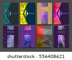 abstract bright binder art.... | Shutterstock .eps vector #556408621