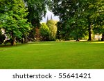Royal Garden In Prague With Tw...