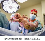 new born seconds old | Shutterstock . vector #556433167
