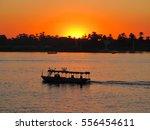 Beautiful Sun Set Over River...