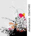 vector grunge background | Shutterstock .eps vector #55647490
