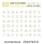 vector graphic set. icons in... | Shutterstock .eps vector #556476415