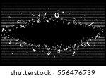 breakthrough into binary code... | Shutterstock .eps vector #556476739