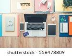 Business Desktop With Laptop ...