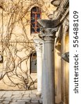 Ancient Columns Against The...