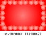 happy valentines day greeting... | Shutterstock .eps vector #556488679