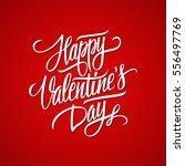 happy valentine's day...   Shutterstock .eps vector #556497769