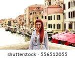 model photography in venice  | Shutterstock . vector #556512055