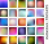 set of 25 abstract colorful... | Shutterstock .eps vector #556516591