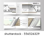set of business templates for... | Shutterstock .eps vector #556526329