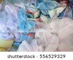 closeup on laundry being washed ... | Shutterstock . vector #556529329