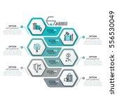 creative infographic design... | Shutterstock .eps vector #556530049