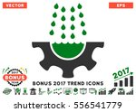 green and gray water shower... | Shutterstock .eps vector #556541779