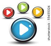 vector web buttons   Shutterstock .eps vector #55655326