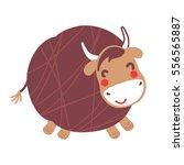 a vector illustration of big... | Shutterstock .eps vector #556565887