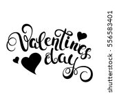 happy valentines day... | Shutterstock .eps vector #556583401
