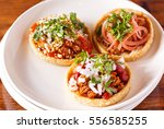mexican sope | Shutterstock . vector #556585255